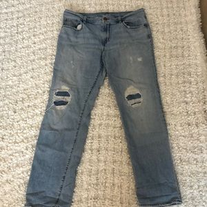 Loft Relaxed Straight Jeans